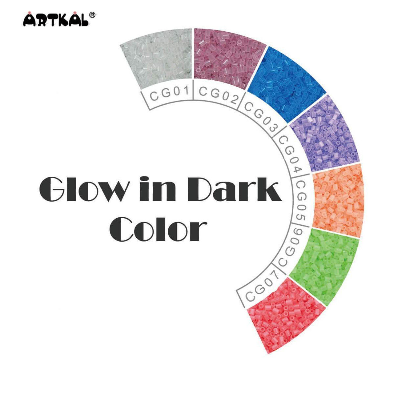 Glow in the Dark Colours